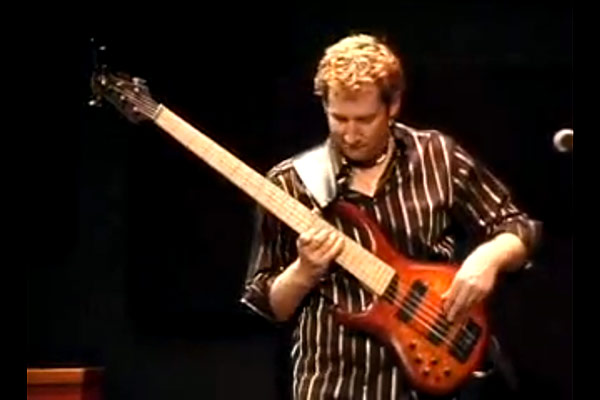 """Jeff Schmidt: """"From Under the Weight of Knowing"""" Live Solo Bass"""