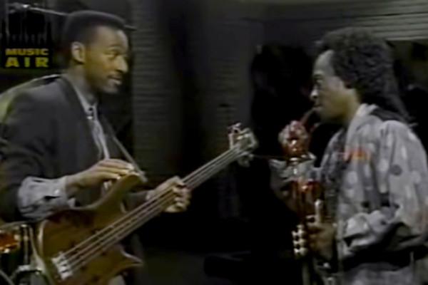 Miles Davis and Marcus Miller: Mr. Pastorius, Live