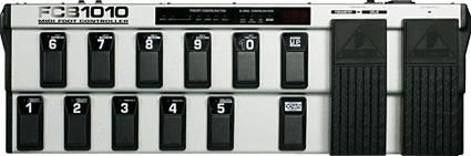 Behringer FCB1010 foot controller