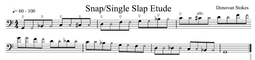 Fig. 3: Snap/Single Slap (click to enlarge)