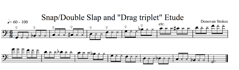 Fig. 5: Snap/Double Slap and Drag triplet (click to enlarge)