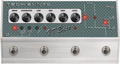 Gear Watch: Tech 21 SansAmp VT Bass Deluxe