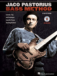 The Jaco Pastorius Bass Method Book