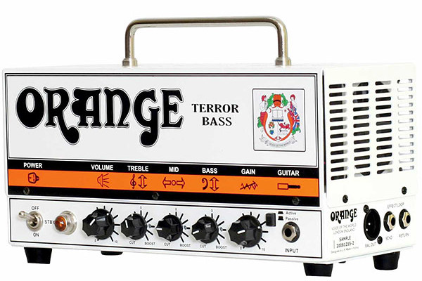 Gear Watch: Orange Shows Off Terror Bass Amps at Summer NAMM