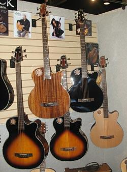 Boulder Creek Acoustic Basses