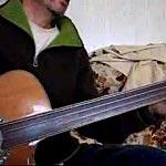 Sailor's Hornpipe on Fretless Acoustic Bass