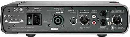 TC Electronic RH450 - back panel
