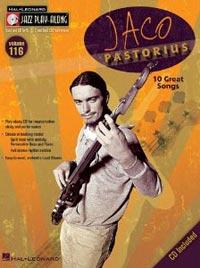 Jaco Pastorius: Jazz Play-Along Volume 116