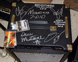 David Ellefson's Megadeth Bass Amp Being Auctioned for Charity