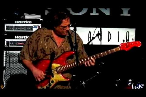 "Stu Hamm: ""Going to California"" Live Solo Bass Performance"