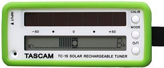 TASCAM TC-1S Solar Powered Tuner
