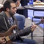 Jon Smith and Federico Malaman at NAMM 2011: Footprints