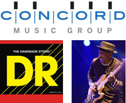 Concord Music Group, DR Strings & Marcus Miller