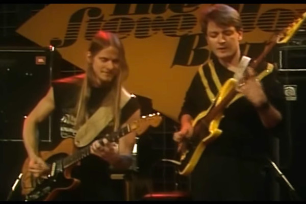 Steve Morse Band: 1984 German TV Performance, with Jerry Peek