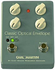 Carl Martin Releases Classic Optical Envelope Pedal