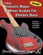 Diatonic Major And Minor Scales For Electric Bass
