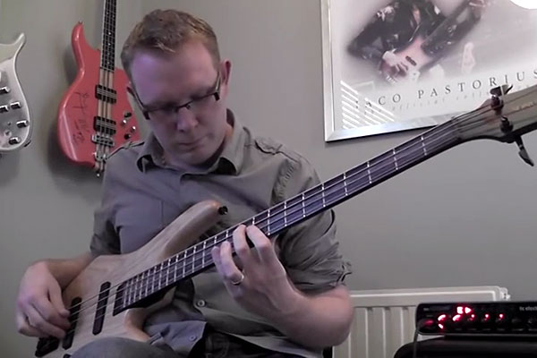 Stuart Clayton: Nothing Else Matters – Solo Bass Arrangement