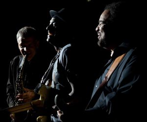 Marcus Miller, George Duke and David Sanborn - DMS
