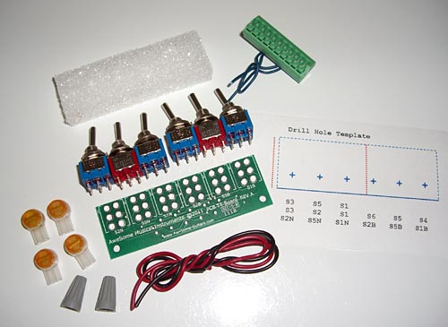 AweSome Musical Instruments Pickup Tone Multiplier Kit