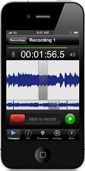 FiRe 2: Recording App for iOS
