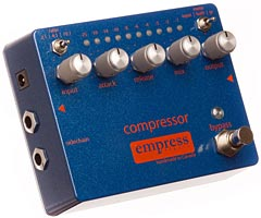 Empress Effects Introduces Compressor Pedal