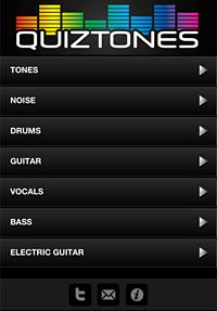 Quiztones: A Look at the Frequency Identification Ear Trainer for iOS