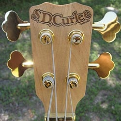 SD Curlee Classic headstock