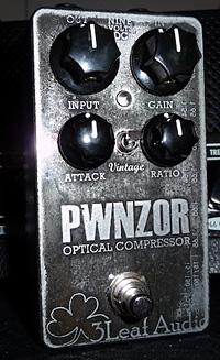 3Leaf Audio PWNZOR Optical Compressor Pedal