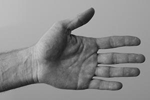 Bassist Health series - hand