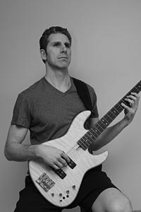 Bassist posture and strap position