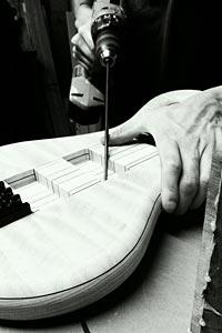 May Custom Bass construction