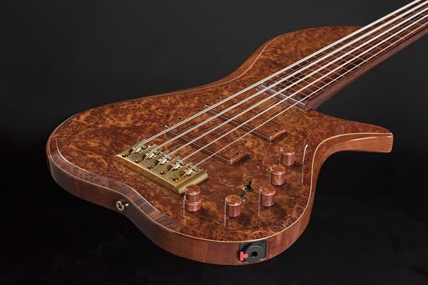 Bass of the Week: BL Designs Barbary Fretless 5-String