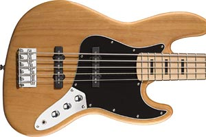 Squier Releases Vintage Modified Jazz Bass V