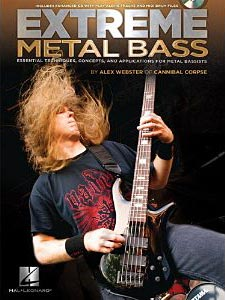 Alex Webster Releases Extreme Metal Bass