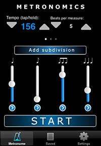 Beyond the Metronome: A Look at Metronomics and Time Guru for iOS