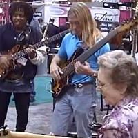 Carol Kaye, Victor Wooten and Steve Bailey Jam at NAMM