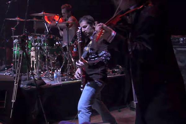 "Steve Vai: ""Now We Run"", Live with Bryan Beller"