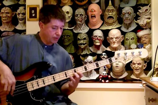"Bass Play-Along Week: Troy Hughes' ""YYZ"" Bass Play-Along"