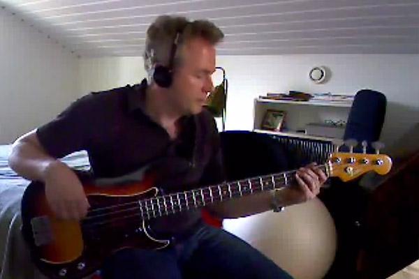 """Bass Play-Along Week: Fredrik Owman's Steely Dan """"Peg"""" Bass Play-Along"""
