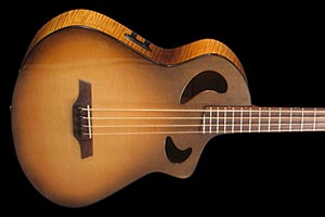 Veillette Introduces Cutaway Acoustic Bass