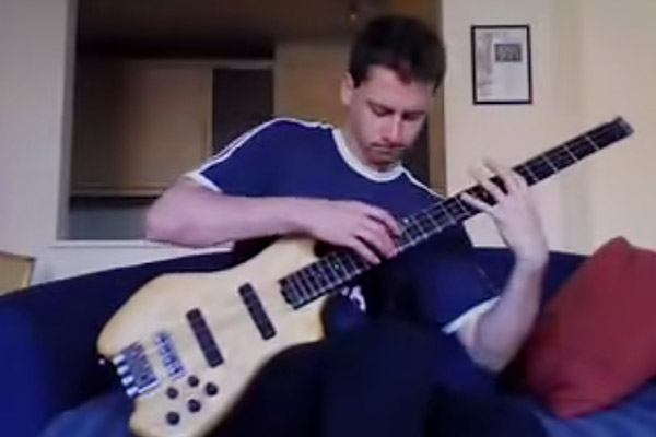 """Bass Cover Week: Zander Zon's Solo Bass Cover of Led Zeppelin's """"Stairway To Heaven"""""""