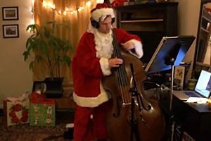 """Todd Matthews: """"Little Drummer Boy"""" the Way We Like It: for Solo Bass"""