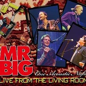 Mr. Big to Release a Live Acoustic Album