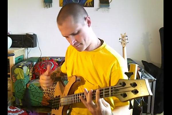 """Viaceslav Svedov: """"No Woman, No Cry"""" All Bass Cover"""
