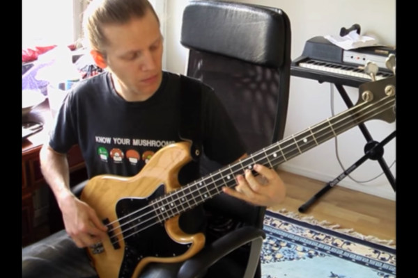 """Johan Hansén-Larson: Note-for-Note Bass Performance of Cannonball Adderley's Solo on """"Minority"""""""