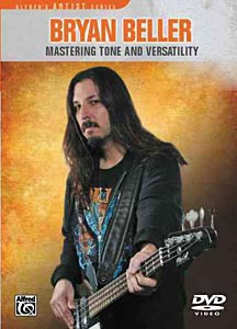 """Alfred Music Releases Bryan Beller's """"Mastering Tone and Versatility"""""""