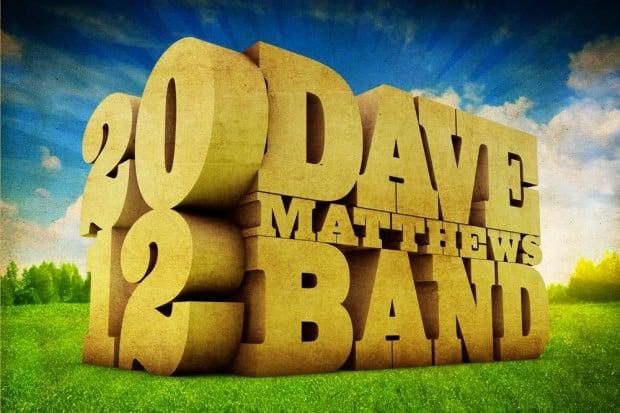2012 Dave Matthews Band North American Tour