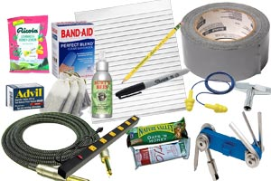 Essential Items for the Gigging Bassist: A Gig Survival Checklist