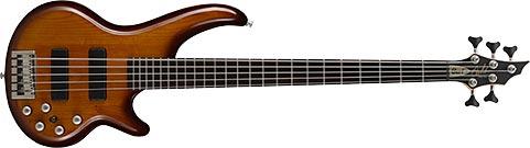 Cort Curbow52 bass (brown sunburst)