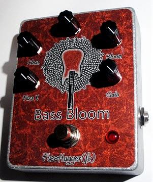 FuzzHugger FX Releases Bass Bloom Fuzz Pedal